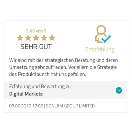 Bewertungen Digital Marketz